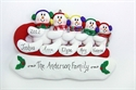 Picture of Sledding Snow Family of 5