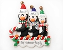 Picture of  Sledding Penguins Family of 3